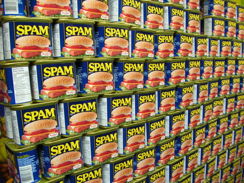 Are you being spammed?