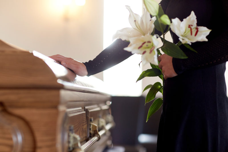 A chance to clean up the funeral market