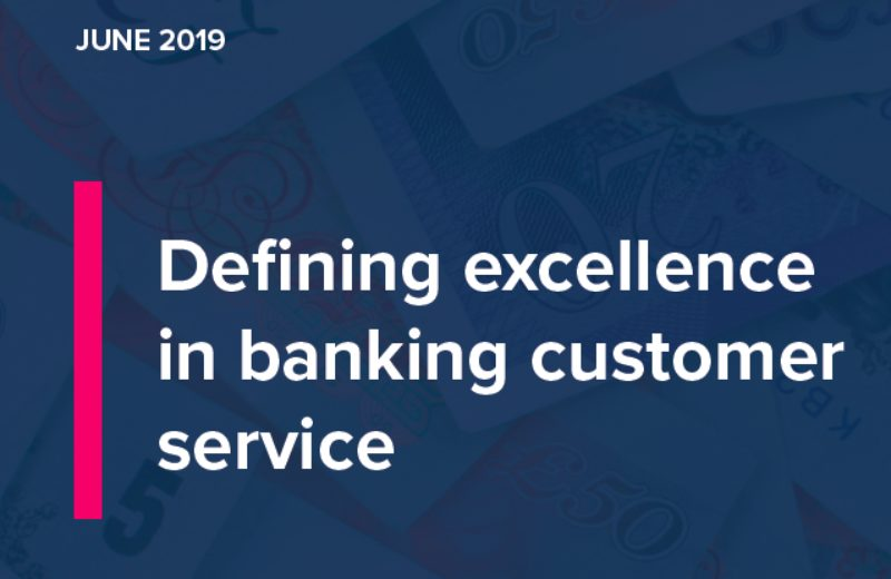 Defining excellence in banking customer service