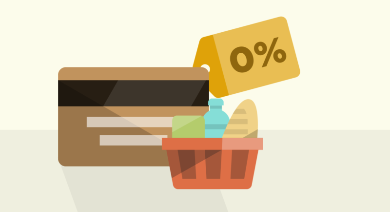 What is a 0% purchase credit card?