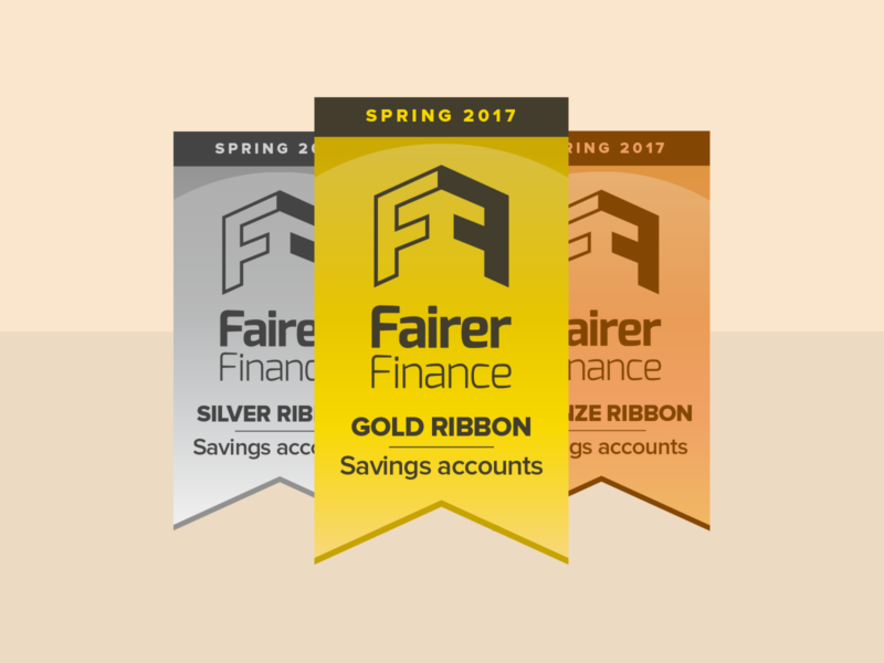 Fairer Finance Gold, Silver & Bronze Ribbons