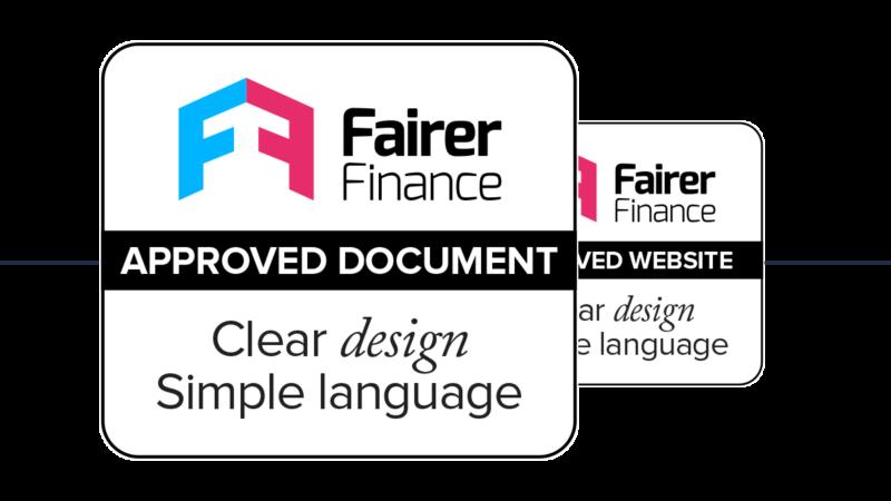 Fairer Finance Clear & Simple mark