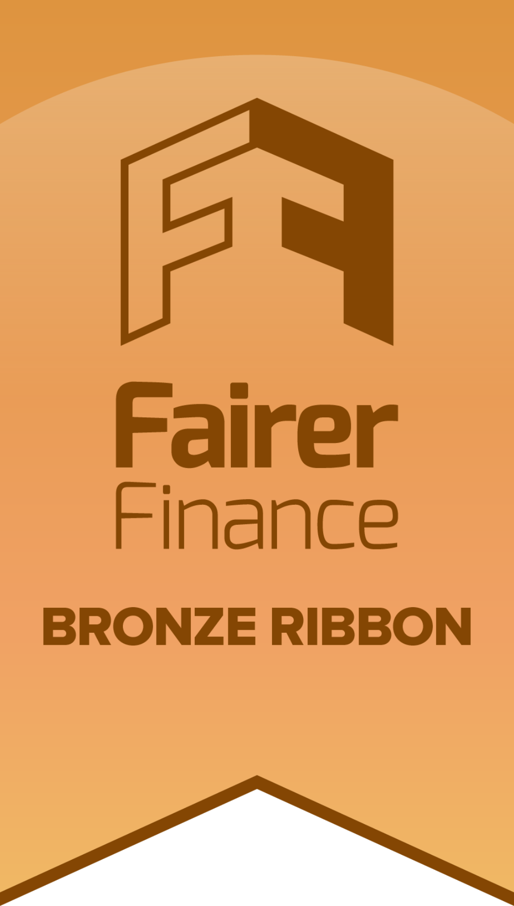 Bronze ribbon